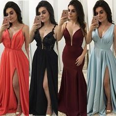 Image may contain: 4 people, people standing Grad Dresses, Homecoming Dresses, Cute Dresses, Bridal Dresses, Beautiful Dresses, Evening Dresses, Casual Dresses, Fashion Dresses, Bridesmaid Dresses