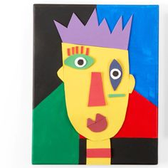 Kids Club® Abstract Picasso Portrait