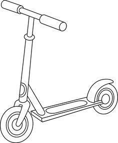 Malvorlage Roller