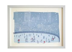 Image of Central Park Sketchbook: Wollman Rink