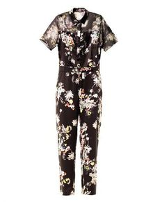 Pin for Later: Jump Into Summer in a Printed Jumpsuit Erdem Vala Eames Garden-print Jumpsuit Erdem Vala Eames Garden-print silk jumpsuit (£1,120)