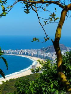 Copacabana Beach seen from Sugar Loaf - More Brazil tips on the blog!