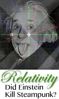 Physicist Dan Allen presents relativity for sci-fi authors, and discusses how Einstein's theories killed the science of steampunk.