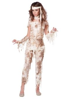 Geheimnisvolles Mumienkostüm für Mädchen The Girls Mysterious Mummy Costume is the perfect 2018 Halloween costume for you. Show off your Girls costume and impress your friends with this top quality selection from Costume SuperCenter! Halloween Costumes For Teens, Halloween Kids, Costumes For Women, Mummy Costume Women, Mummy Costumes, Group Halloween, Tween Halloween Costumes For Girls Diy, Scary Girl Costumes, Teen Girl Costumes
