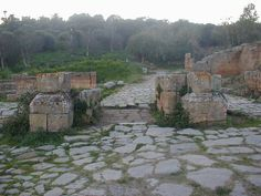 Rabat, Morocco - Roman ruins