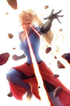 Arte Dc Comics, Star Comics, Marvel Comics Art, Marvel Dc, Supergirl Superman, Superman Family, Mundo Comic, Female Hero, Superhero Design