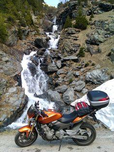 Waterfall on Transfagarasan