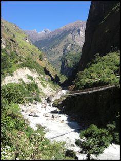 Beim Wandern in Nepal (Himalaya/ Annapurna Runde)