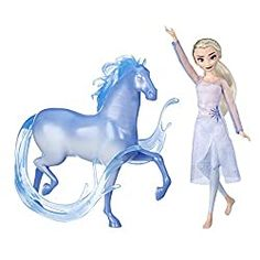On her epic adventure in Disney's Frozen Elsa meets the Nokk, a mythical water spirit whose strength rivals her own. Kids can recreate scenes from the Disney Frozen 2 movie with this classic Elsa doll and Nokk figure. Frozen Disney, Muñeca Elsa Frozen, Disney Pixar, Princesa Disney Frozen, Animation Disney, Frozen Movie, 2 Movie, Disney Princess, Mattel Barbie