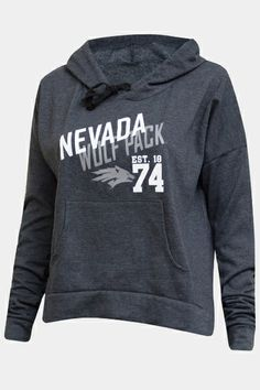 Nevada Wolf Pack Wolf Est. 1874 Hoodie | Nevada Wolf Shop