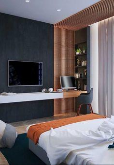 Modern home design – Home Decor Interior Designs Bedroom Bed Design, Modern Bedroom Design, Home Bedroom, Home Living Room, Bedroom Designs, Modern Home Interior Design, Home Room Design, Bohemian Interior, French Interior