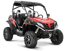 With the ZFORCE 800EX EPS, you're in command. The wide stance of the EX and the added control of the standard Electronic Power Steering gives you the agility to make sharp turns, and the power to rip through winding trails and rocky creek beds. Whether you're opening her up on a straightaway or curving through