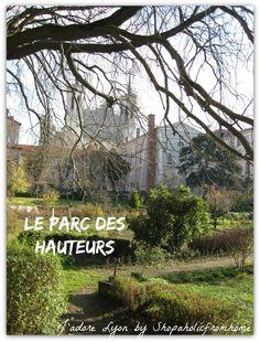 #parks #visitlyon #thingstodo #freelyon #jadorelyon http://shopaholicfromhome.com/my-big-list-of-lyonnais-parcs/ Le Parc des Hauteurs