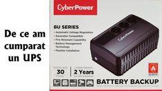 De ce am cumparat un UPS CyberPower BU600E Power Outage, Electronic Devices, Calculator, Technology, Products, Tech, Tecnologia, Gadget