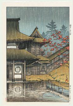 1933 - Hasui, Kawase - Yamano Tera, Sendai