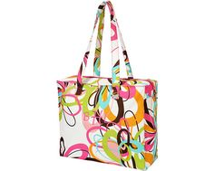 Personalized Squiggle Tote Bag  by AddieKakesKreations on Etsy, $16.50
