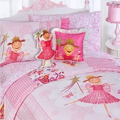 Pinkalicious Fairy Princess 7pc Pink Full Bedding Set * More info could be found at the image url.