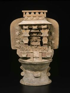 Toltec - Teotihuacan - Incense burner base, A.D. 350–550.