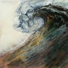 Dynamisch, schilderij vol met beweging