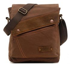 ((THIIIISSSSSSSSS)) Vere Gloria Men Women Small Canvas Messenger Bag Crossbody Shoulder Handbags Ipad Laptop Bag for School Travel Hiking and Everyday Use (Brown) Vere Gloria http://www.amazon.com/dp/B015W69K7A/ref=cm_sw_r_pi_dp_54c7wb14VWAQ2