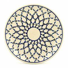 Blue lattice Polish Pottery - CONNILEE!!!!!!!!!!!!!!!!