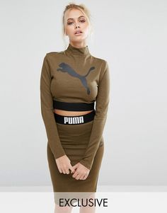 Browse online for the newest Puma Exclusive to ASOS Long Sleeve Crop Top Co Ord styles. Shop easier with ASOS' multiple payments and return options (Ts&Cs apply). Sporty Outfits, Cute Outfits, Fashion Outfits, Calvin Klein Sweatshirt, Co Ords Outfits, Puma Outfit, Yeezy Fashion, Nina Von C, Curvy Women Fashion