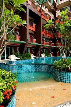 Blue Ocean Resort & Spa, 273 Rat-U-Thit Road, Patong, Kathu, TH 83150.  $79.60 average per night.