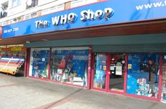 """A shop in London dedicated to all things Doctor Who. Apparently If you pay them like three pounds you can go into the TARDIS at the back of the store and it leads into a mini museum of all this stuff they've bought from BBC auctions like it's got old costumes and props and signed stuff and it's really cool you should all go there  (and they take a photo of you unlocking the Tardis and going in its super cute)"" brb going to London"