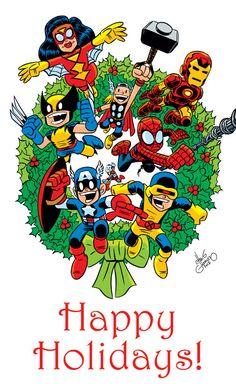 Happy Holidays - Chris Giarrusso