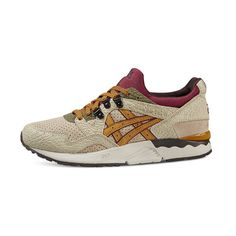 asics gel-lyte v - sneakers laag - coral reef/clear water