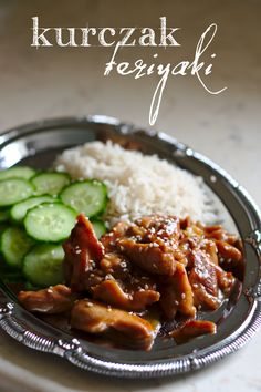 kurczak teriyaki Asian Recipes, Healthy Recipes, Ethnic Recipes, Kung Pao Chicken, Poultry, Recipies, Dinner Recipes, Food And Drink, Yummy Food