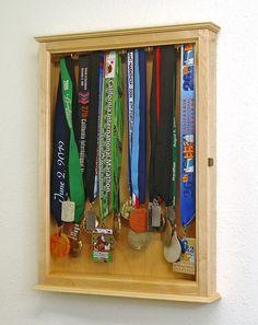 marathon medal display - Google Search