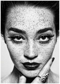 Freckles by Irving Penn  