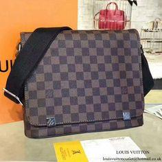 5177559c6f Louis Vuitton N41031 District PM Messenger Bag Damier Ebene Canvas   Louisvuittonhandbags