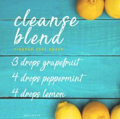 Cleanse your space with this refreshing, citrusy blend! Grapefruit's sweet and zesty scent, Peppermint's fresh and minty aroma & Lemon's citrus scent will gives you the cleanse blend you need.