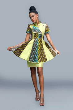 Peplum!!LANRE DA SILVA AJAYI & VLISCO COLLABORATES