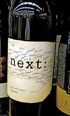 Next: Pinot Noir