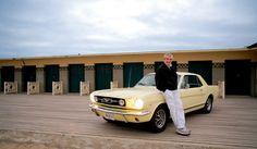 Claude Lelouch Un homme et une femme Claude Lelouch, Paris Match, Good Old, Mustang, Ford, History, Cars, The Beach, Woman