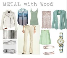 Dominant Metal with Secondary Elements: Fashion Feng Shui