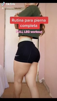 Leg And Glute Workout, Gym Workout Videos, Gym Workout For Beginners, Fitness Workout For Women, Fitness Goals, Body Fitness, Fitness Tips, Summer Body Workouts, Fit Board Workouts