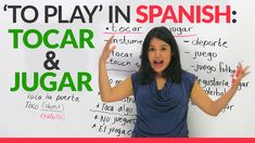 """""""To play"""" in Spanish: """"JUGAR"""" & """"TOCAR"""""""