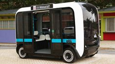 a new world for transit... self-driving shuttles...