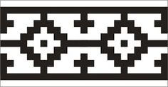 "Crónicas de la Tierra sin Mal : La ""Guarda Pampa"" – Cultura Mapuche Stencil Templates, Stencil Patterns, Stencil Designs, Paint Designs, Gaucho, Seed Bead Patterns, Beading Patterns, Celtic Tribal, Leather Tooling Patterns"
