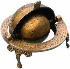 Brass Celestial Armillary Globe