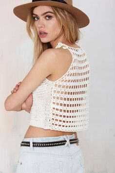 Glamorous Center Stage Crop Sweater - Cropped | Cropped | Clothes | All