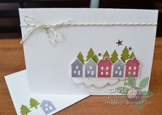 sugarplum, wisteria wonder houses - November 2016 paper pumpkin