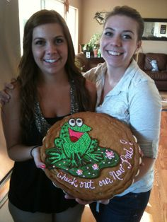 Welcome to our new Pad Cookie my incredibly talented friend Mandy made.