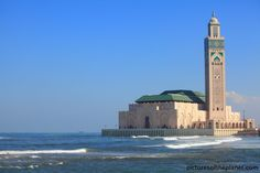 The Hassan II Mosque in Casablanca
