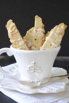 Lemon Pine Nut Biscotti