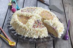 Funfetti cake ou gâteau aux vermicelles - Diaporama 750 grammes